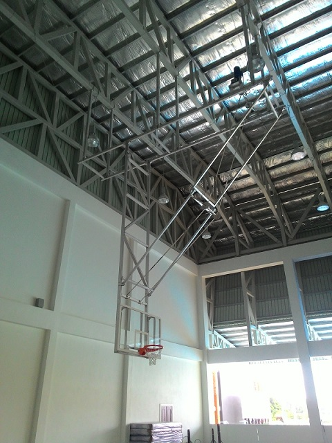 Ceiling Mounted Basketball Basketball Roof Mount